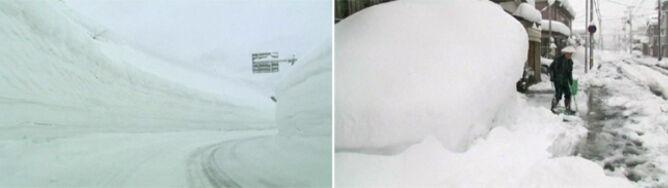 Niszczarki do śniegu, kolorowe przystanki i ganki dla przechodniów