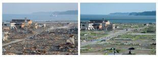 Pół roku sprzątania po tsunami w Japonii. Zobacz efekty