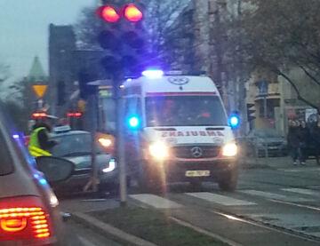 ~Piotr Kolizja tramwaj z osobowy