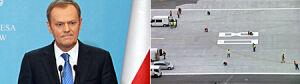 Tusk: winni nie unikną odpowiedzialności za Modlin