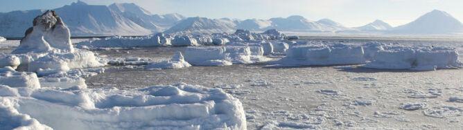 """Arktyczna zima nie taka straszna. """"Z roku na rok jest coraz cieplej"""""""