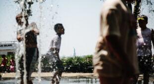 Upał w Nowym Jorku (PAP/EPA/ALBA VIGARAY)